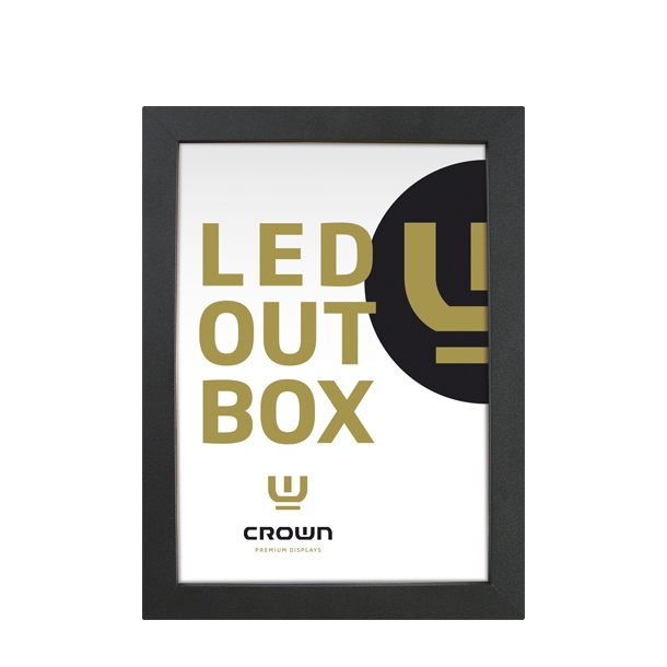 CROWN LED Out Box Single Sided