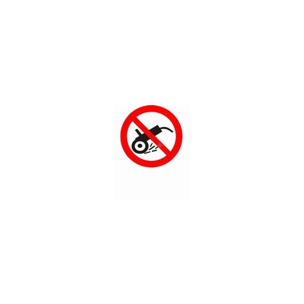 Brug af gnistfrembringende værktøj forbudt